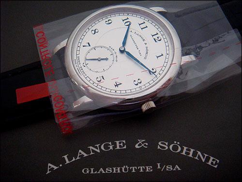 A. Lange and Sohne '1815' Automatik Platinum Ref. 303.025