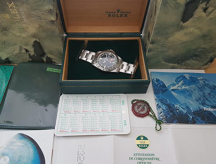 1979 Rolex Explorer II Wristwatch Ref. 1655