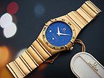 Ladies Omega Constellation, 18K solid gold watch, Ref. 1172.76