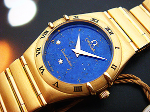 Ladies Omega Constellation, 18K solid gold watch, Ref. 1172.76