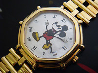 Gerald Genta 'Mickey Mouse' 18K YG Ref. G28607