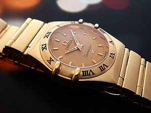Ladies Omega Constellation 18K Watch Ref. 1112.10