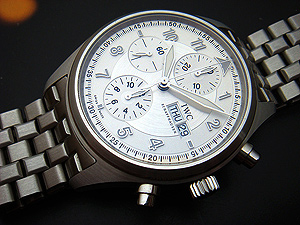 IWC Fliegeruhr/Spitfire Day Date Chronograph Watch Ref. IW371705