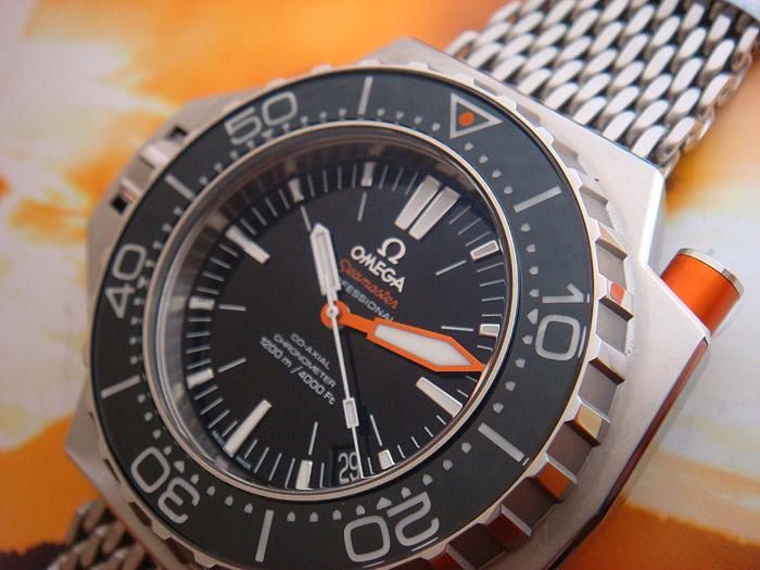 Omega Seamaster Ploprof Wristwatch Ref. 224.30.55.21.01.001