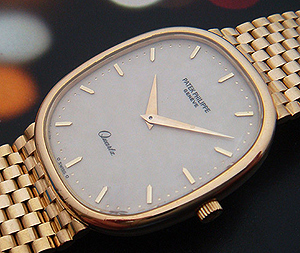 Patek Philippe Golden Ellipse 18K YG Wristwatch  Ref. 3838/1