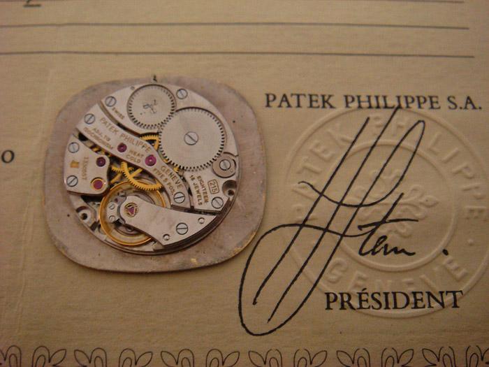 Patek Philippe 18K YG Ref. 3855