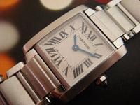 Cartier Tank Francaise Ladies' Ref. W51003Q8