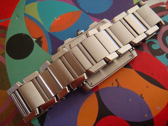Cartier Tank Francaise Midsize Chronograph Watch Ref. W51001Q3