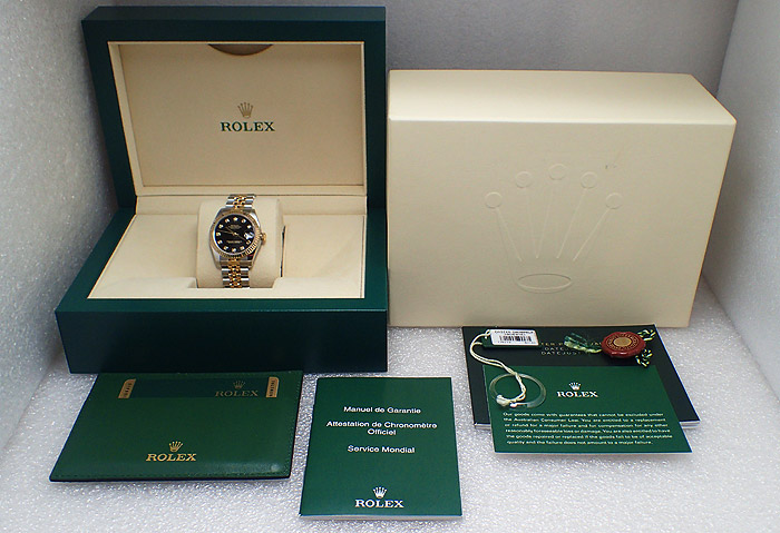 Rolex Oyster Perpetual Datejust, Diamond Dial, Ref. 178273