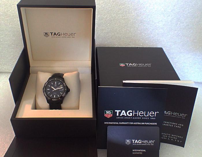 TAG Heuer Aquaracer 500M Calibre 5, Ref WAK2180
