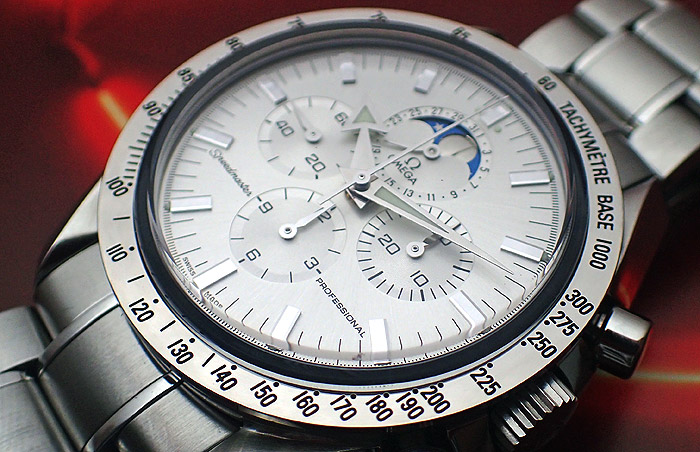 Omega Speedmaster Professional Moonphase Silver Dial Ref. 3575.30