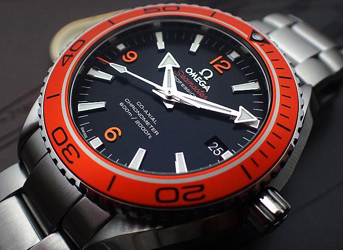 Omega Seamaster Planet Ocean Orange Bezel Ref: 232.30.42.21.01.002