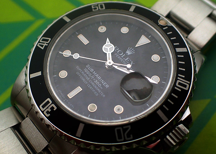 1987 Rolex Submariner 168000 Mark 1