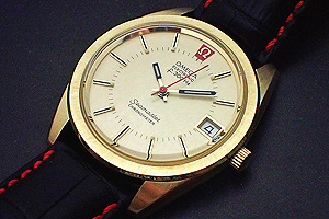 Omega Seamaster Electronic f300, 18K Solid Gold, Ref 198.001