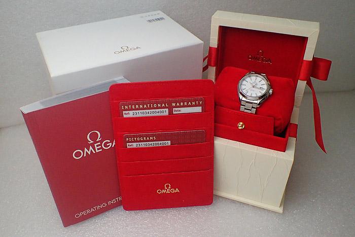 Omega Seamaster Aqua Terra Co-axial Wristwatch Ref. 231.10.34.20.04.001