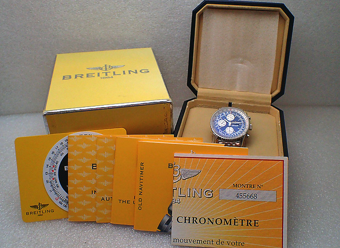 Breitling Navitimer, Blue dial, Ref. A13322