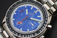 Omega Speedmaster Automatic Blue Dial Ref. 3510.80