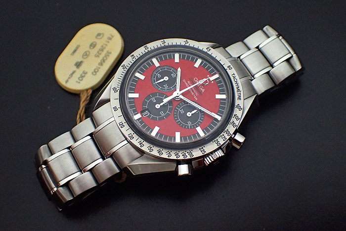 Omega Speedmaster Michael Schumacher Edition Ref. 3506.61