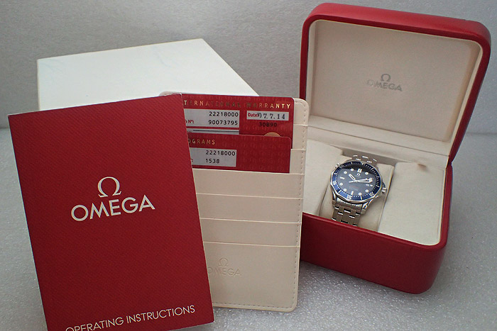 Omega Seamaster Professional Quartz 300m Ref. 2221.80
