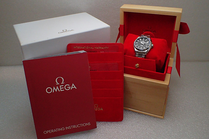 Omega Seamaster Aqua Terra Co-axial Ref. 231.10.34.20.01.001