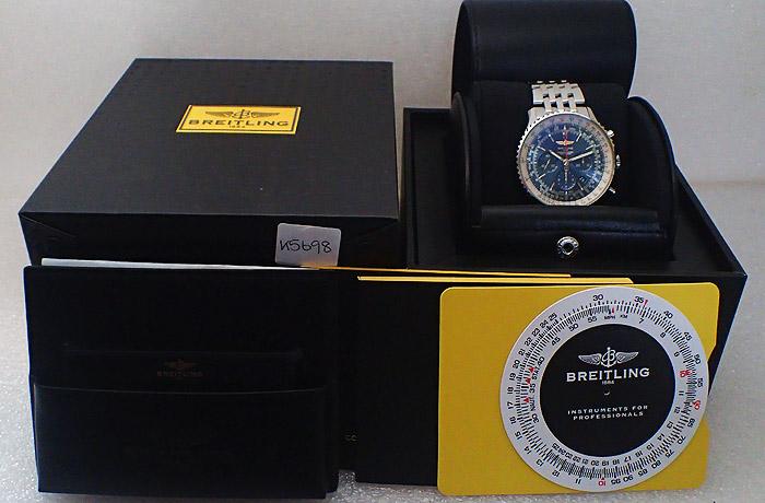 Breitling Navitimer 46mm Aurora Chronograph Ref AB0127