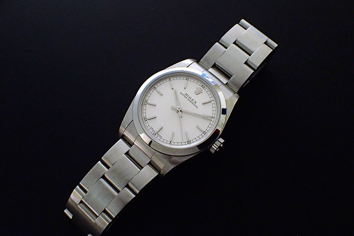 Ladies Rolex Oyster Perpetual, Mid-size, Ref 77080