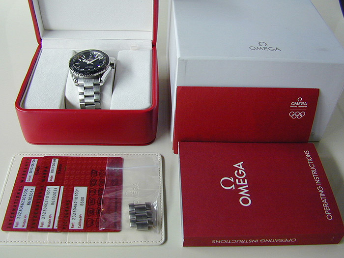 Omega Seamaster Planet Ocean Co-Axial Ref. 232.30.46.21.01.001