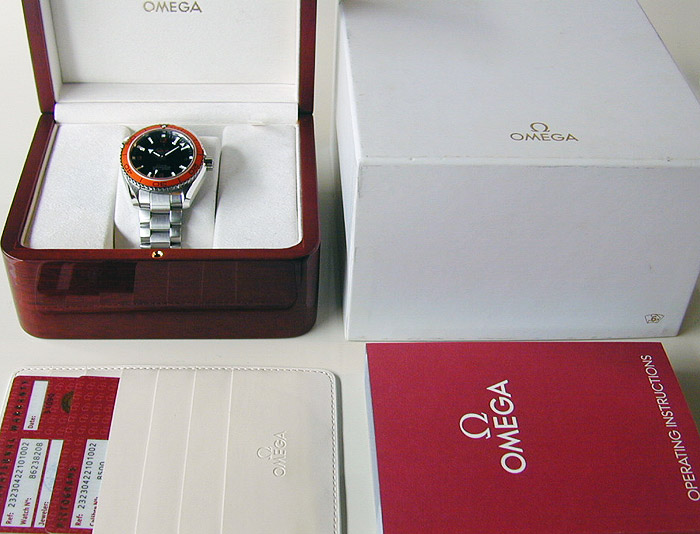 Omega Seamaster Planet Ocean Co-Axial Ref. 232.30.42.21.01.002