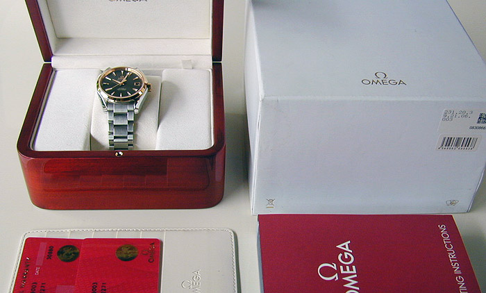 Omega Seamaster 18k Pink Gold Co-Axial Ref. 231.20.39.21.06.003