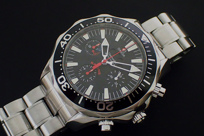 Omega Seamaster Regatta Racing Steel Mens Watch Ref. 2569.52