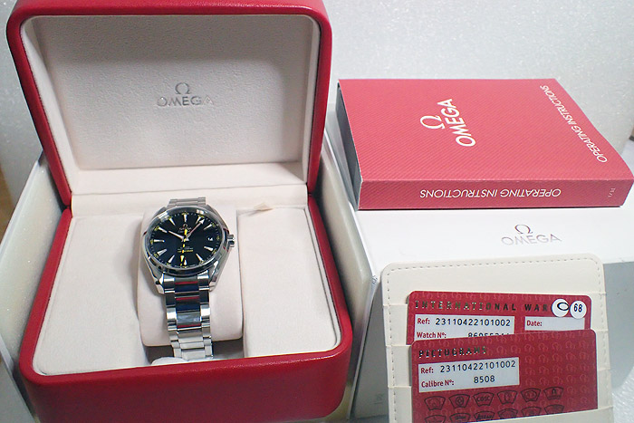 Omega Aqua Terra 150m Co-Axial 41.55mm Ref. 231.10.42.21.01.002