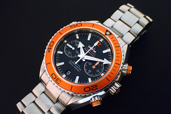 Planet Ocean 600m Omega Co-axial Chronograph 45.5mm, Ref. 232.30.46.51.002
