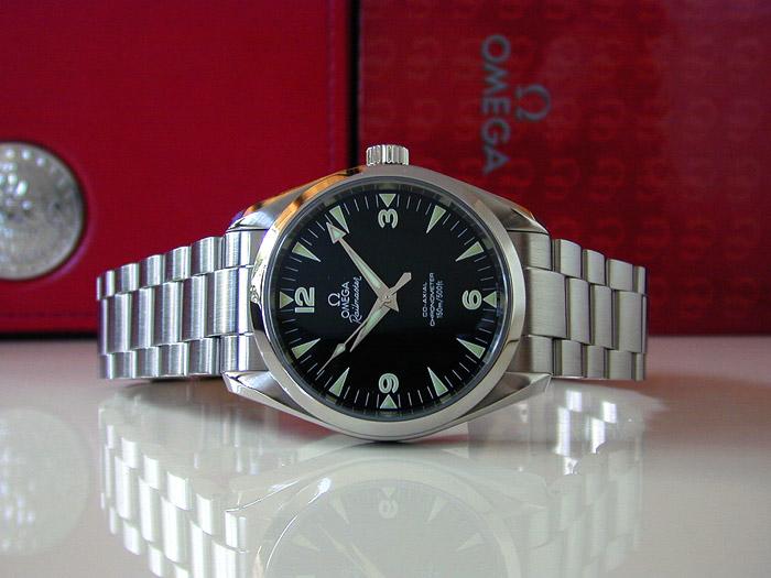 Omega Railmaster Co-axial Chronometer Ref. 2503.52