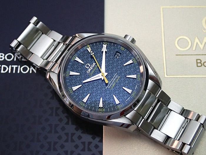 Omega Seamaster James Bond Limited Edition Aqua Terra 231.10.42.21.03.004