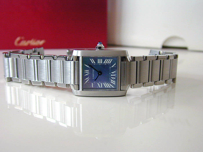 Ladies Cartier Tank Francaise Quartz Ref. W51034Q3