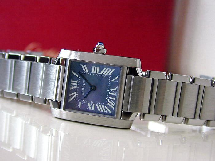 Ladies Cartier Tank Francaise Quartz Ref. W51034Q3
