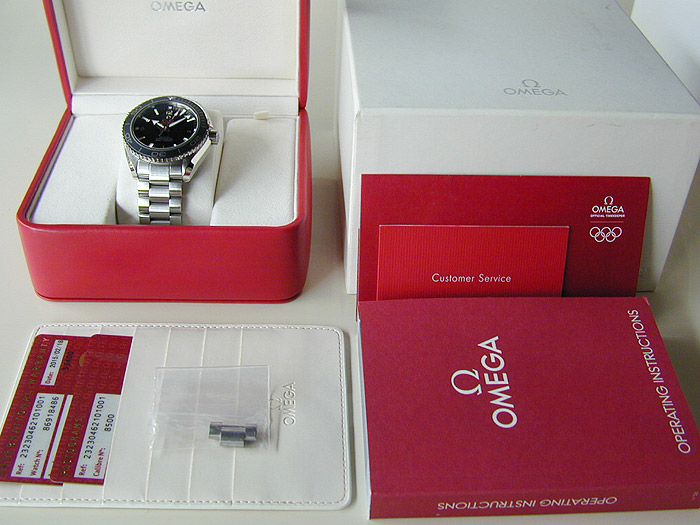 Omega Seamaster Planet Ocean Co-Axial Ref. 232.30.42.21.01.001