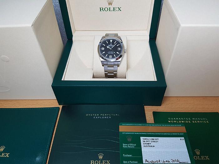 Rolex Oyster Perpetual Explorer Ref. 214270
