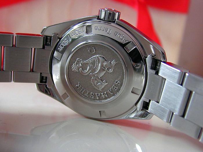 Ladies Omega Seamaster Diamond Dial Quartz Ref. 231.10.30.61.55.001