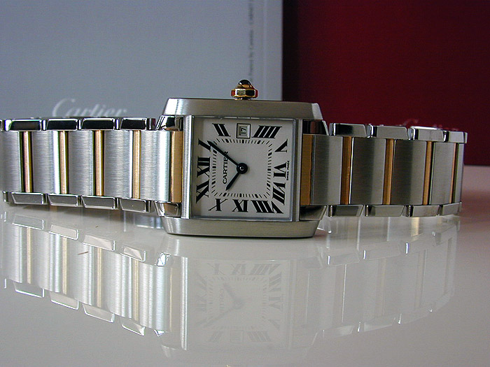 Ladies Cartier Tank Francaise Midsize Quartz Ref. W51012Q4