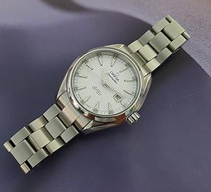 Ladies' Omega Seamaster Aqua Terra Co-axial Wristwatch Ref. 231.10.34.20.04.001