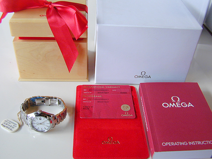 Ladies' Omega Seamaster Aqua Terra Co-Axial Ref. 231.10.34.20.04.001