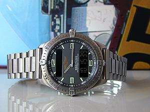 Breitling Aerospace Minute Repeater Titanium Quartz Ref. E65062