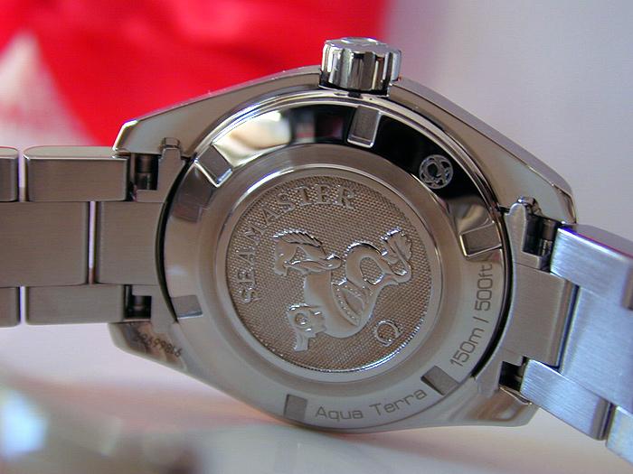 Ladies' Omega Aqua Terra 150m Quartz 30mm Ref. 231.10.30.60.06.001