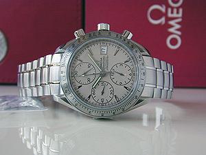 Omega Speedmaster Date Chronograph Wristwatch Ref. 3211.30