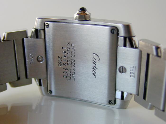 Ladies' Cartier Tank Francaise Midsize Quartz Ref. W51011Q3