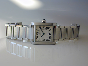 Ladies' Cartier Tank Francaise Midsize Quartz Ref. W51011Q3