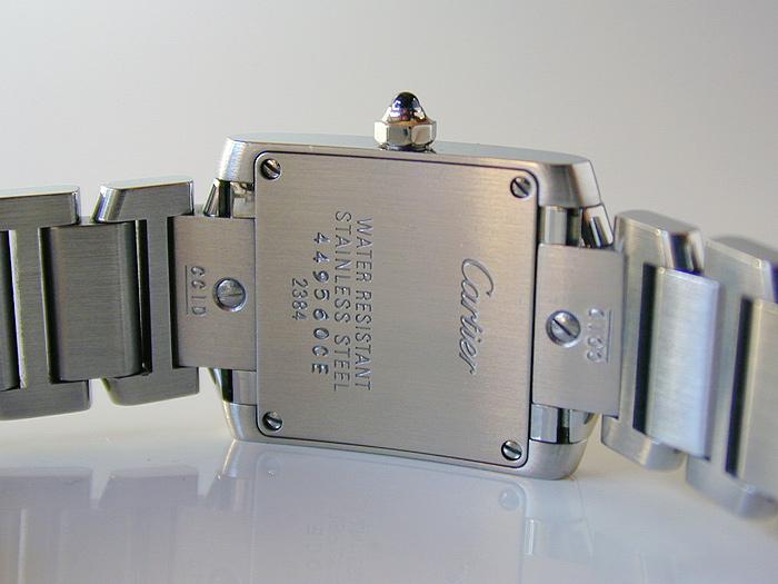 Ladies' Cartier Tank Francaise Quartz Wristwatch Ref. W51026Q3