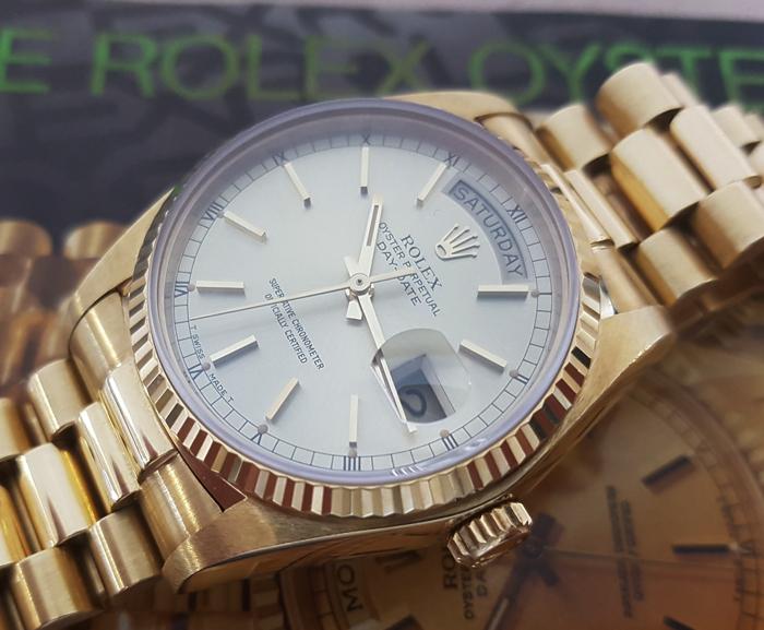 1978 Rolex President Day Date 18k YG Ref. 18038