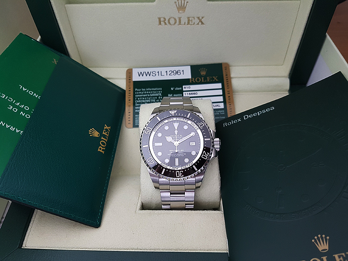 Rolex Oyster Perpetual Date Deepsea Sea-Dweller Ref. 116660